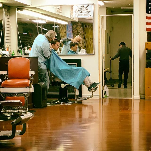 hair cuts & shaves