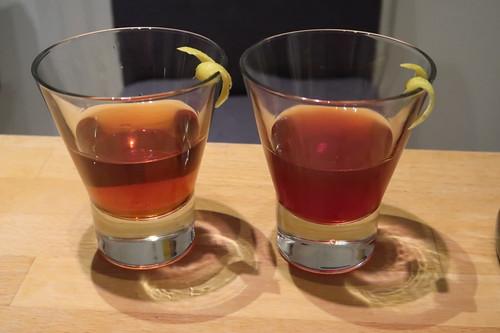 Manhattan Cocktail (zwei Gläser)
