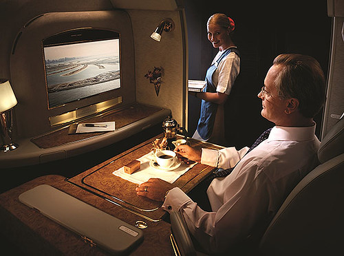 Emirates First Class ICE (Emirates)