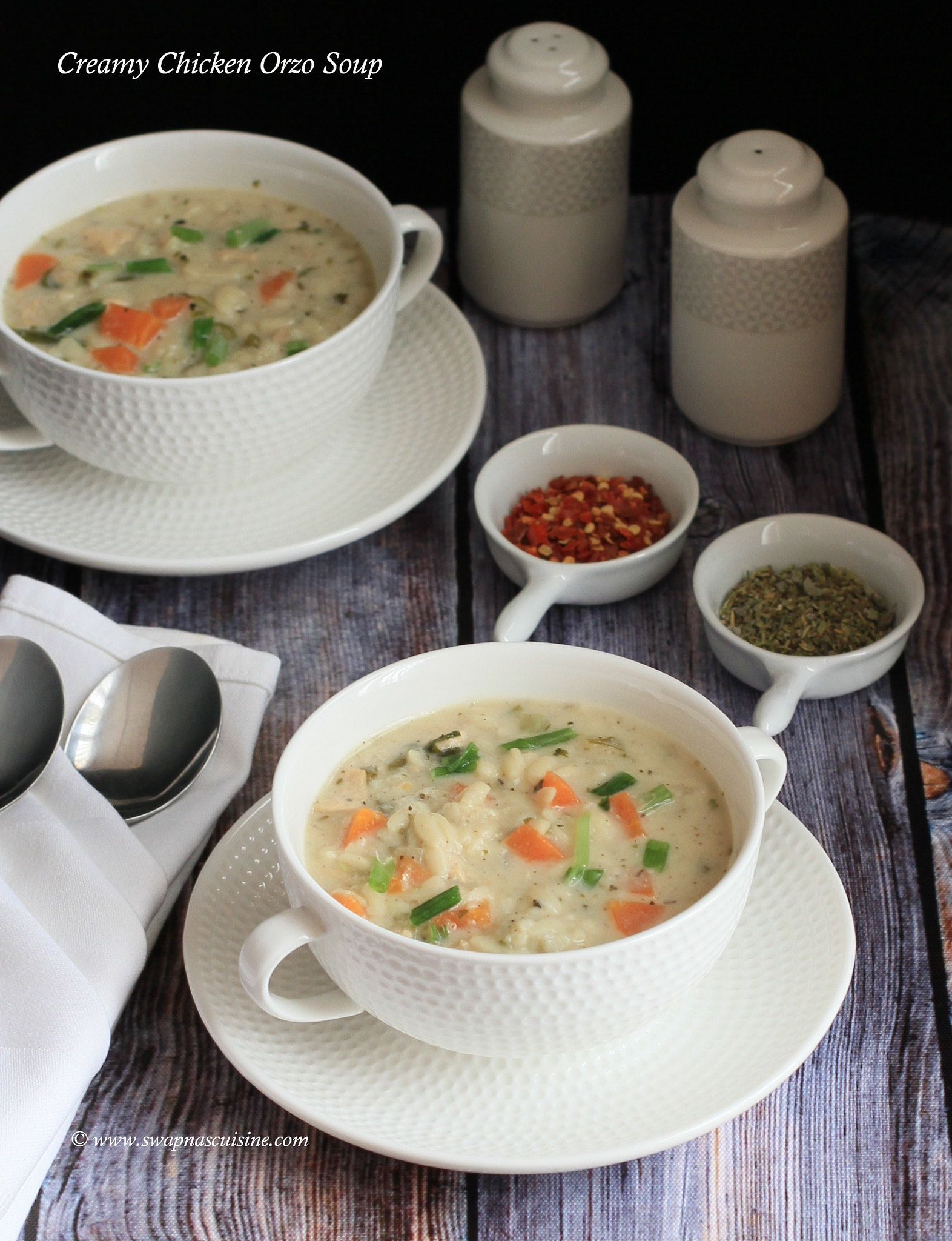 How to make Creamy Chicken Orzo Soup