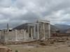 Naxos, chrám bohyně Démétér, vpravo v pozadí Mount Zeus, foto: Petr Nejedlý