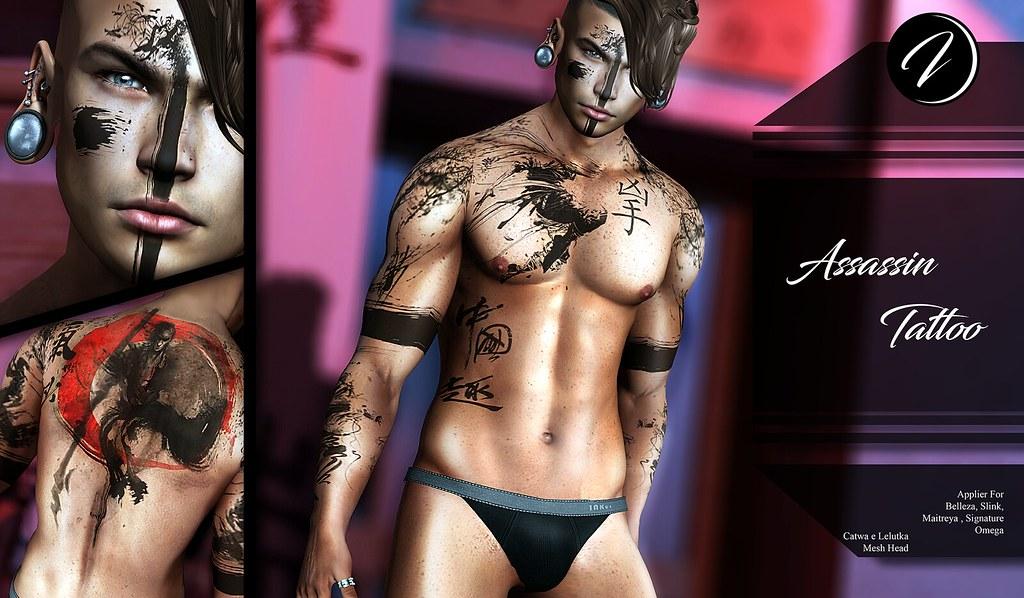 ..:: INKer ::.. Assassin Tattoo - TeleportHub.com Live!