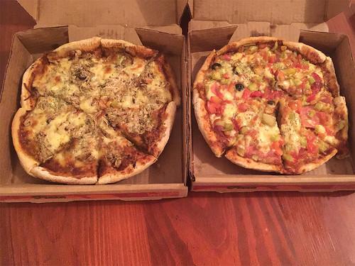 27 - Pizzen als Dinner / Pizza for dinner