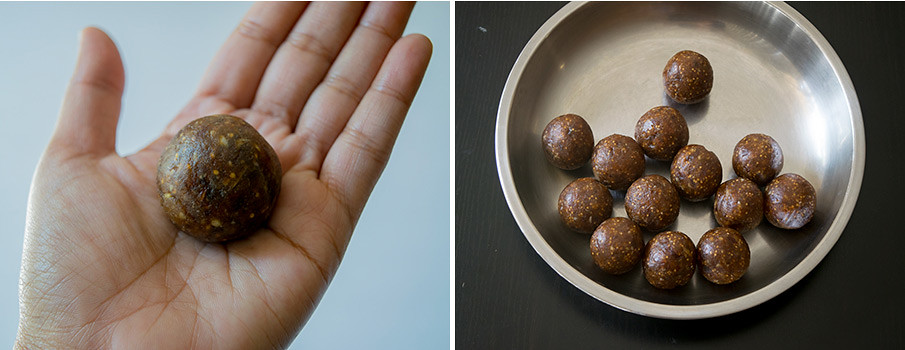 Dry Fruits Laddu cooking steps by GoSpicy.net