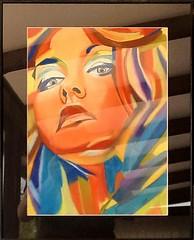 Oeuvre de Chantal Bordiau - Eventail des Arts.