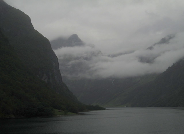 Further into Nærøyfjord, Norway