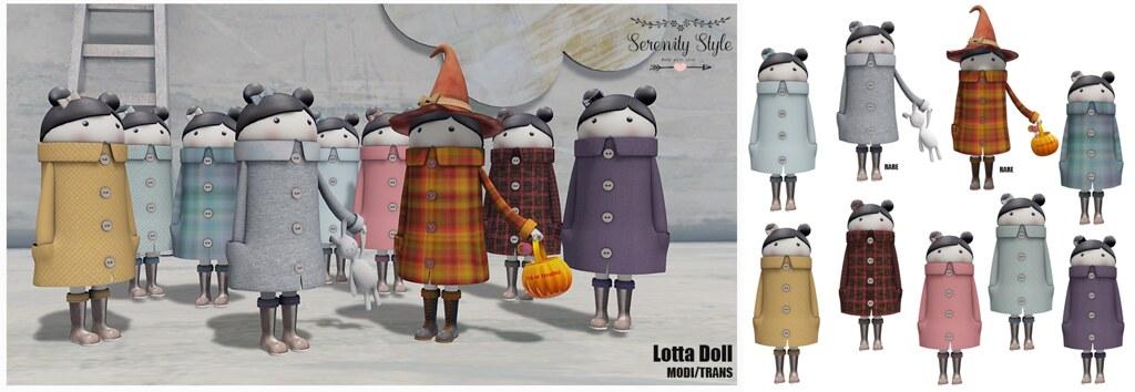 Serenity Style- Lotta Doll Gacha Col - TeleportHub.com Live!