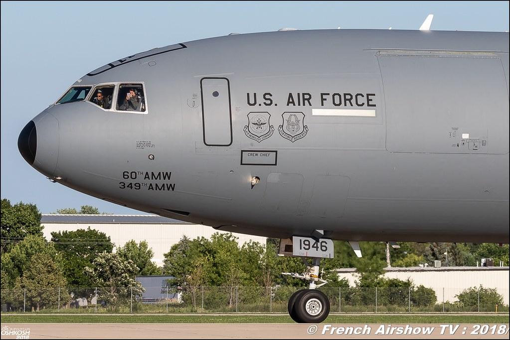 McDonnell Douglas KC-10 Extender EAA Oshkosh 2018