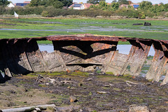 Boat wrecks - Gosport UK