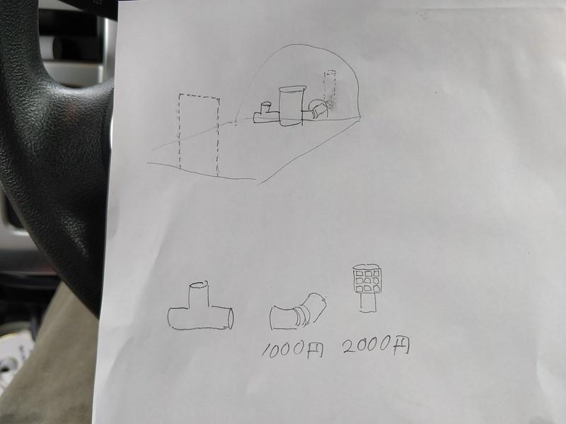 ビニールハウス用のストーブを作る (2)