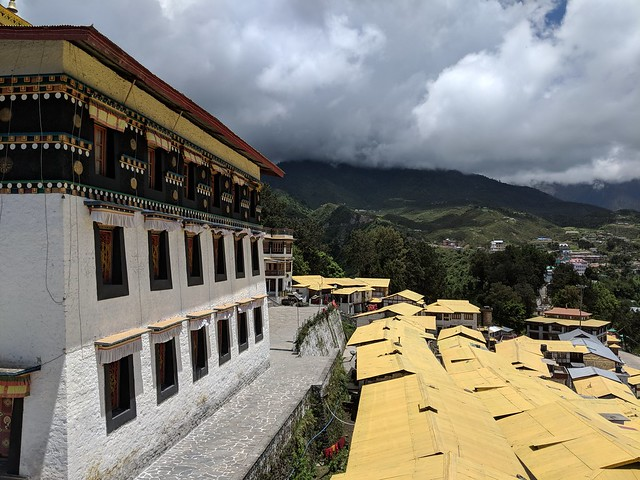 rest of tawang. i did not like the look of those clouds