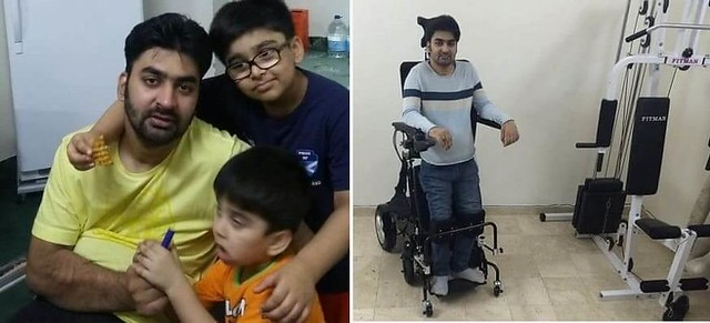 4713 Naveed Iqbal The Journey of a Pakistani Expat from 2 legs to NO legs 01