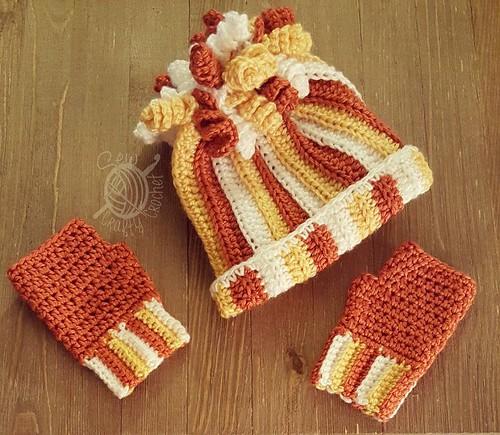 254 Candy Corn Hat
