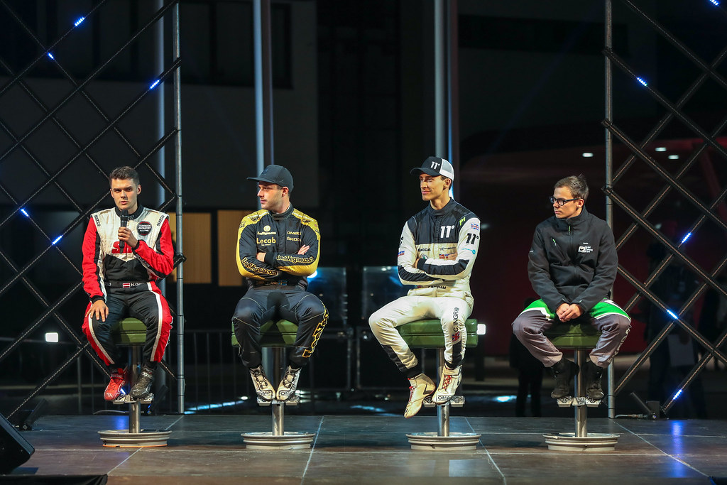 Press Conference during the 2018 European Rally Championship ERC Liepaja rally,  from october 12 to 14, at Liepaja, Lettonie - Photo Alexandre Guillaumot / DPPI