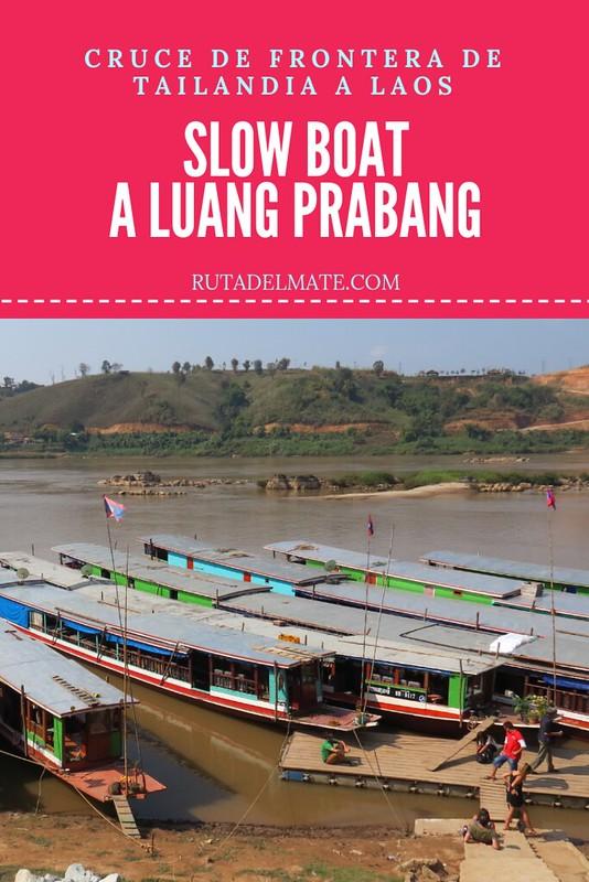 Slow boat a Laos