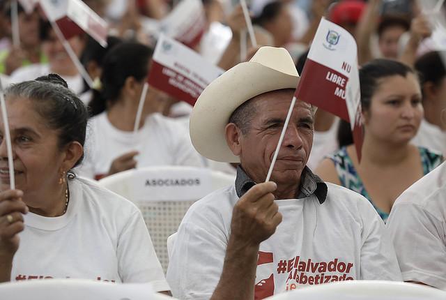 Nueva Trinidad,Chalatenango,  Libre de Analfabetismo.