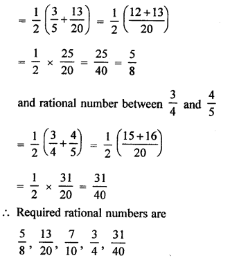 RD Sharma Class 9 Solutions Chapter 1 Ex 1.1