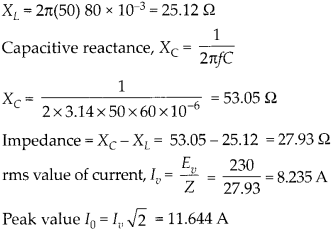 NCERT Solutions for Class 12 Physics Chapter 7 Alternating Current 41