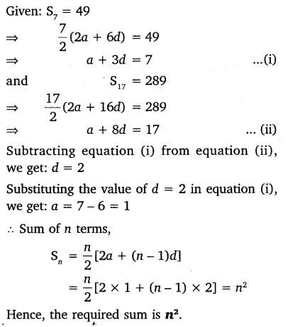 NCERT Solutions for Class 10 Maths Chapter 5 Arithmetic Progressions 66