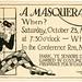 A Halloween Masquerade Invitation! October 23, 1920 by Alan Mays
