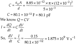 NCERT Solutions for Class 12 Physics Chapter 8 Electromagnetic Waves 3