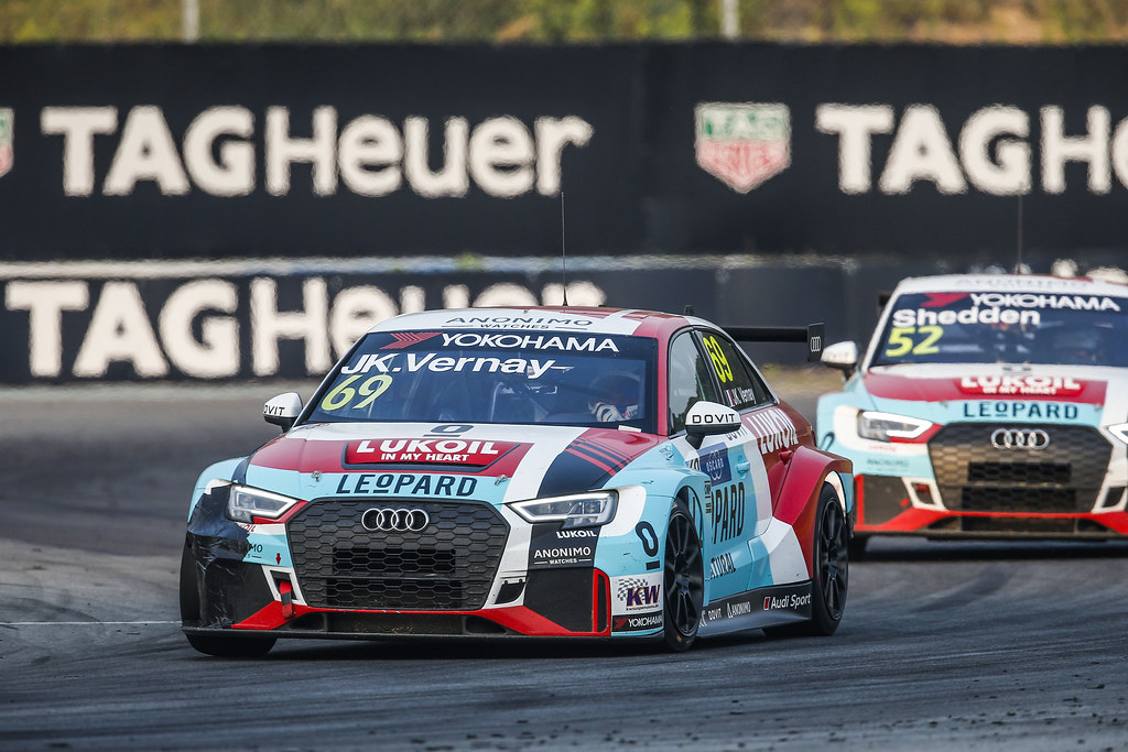 69 VERNAY Jean-Karl, (fra), Audi RS3 LMS TCR team Audi Sport Leopard Lukoil, action during the 2018 FIA WTCR World Touring Car cup of China, at Ningbo  from September 28 to 30 - Photo Jean Michel Le Meur / DPPI