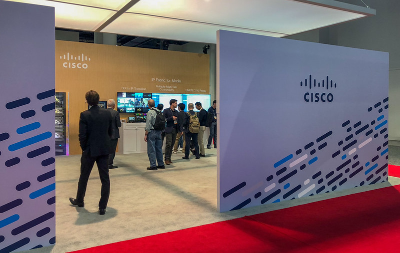 Cisco NAB 2018 Booth
