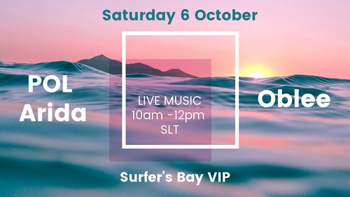 Live Music At Surfer's Bay VIP This Saturday