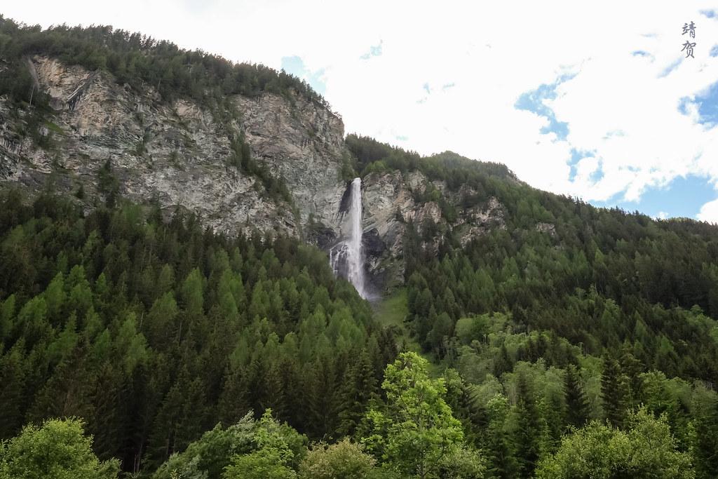 Jungfernsprung waterfall