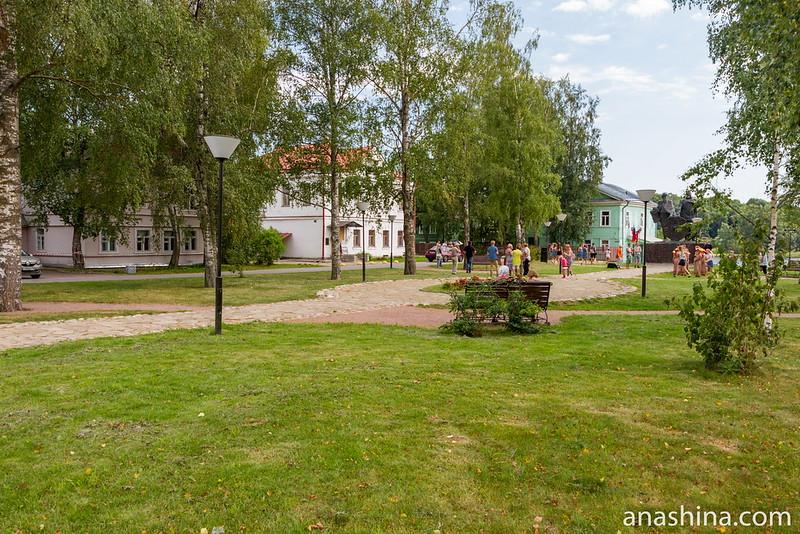 Сквер, Старая Ладога