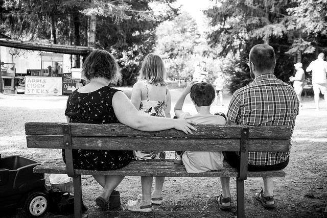 A family outing at the Orchard in Ottawa