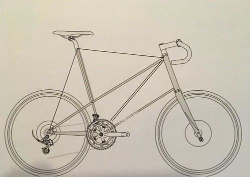 Pedersen racing minivelo sketch
