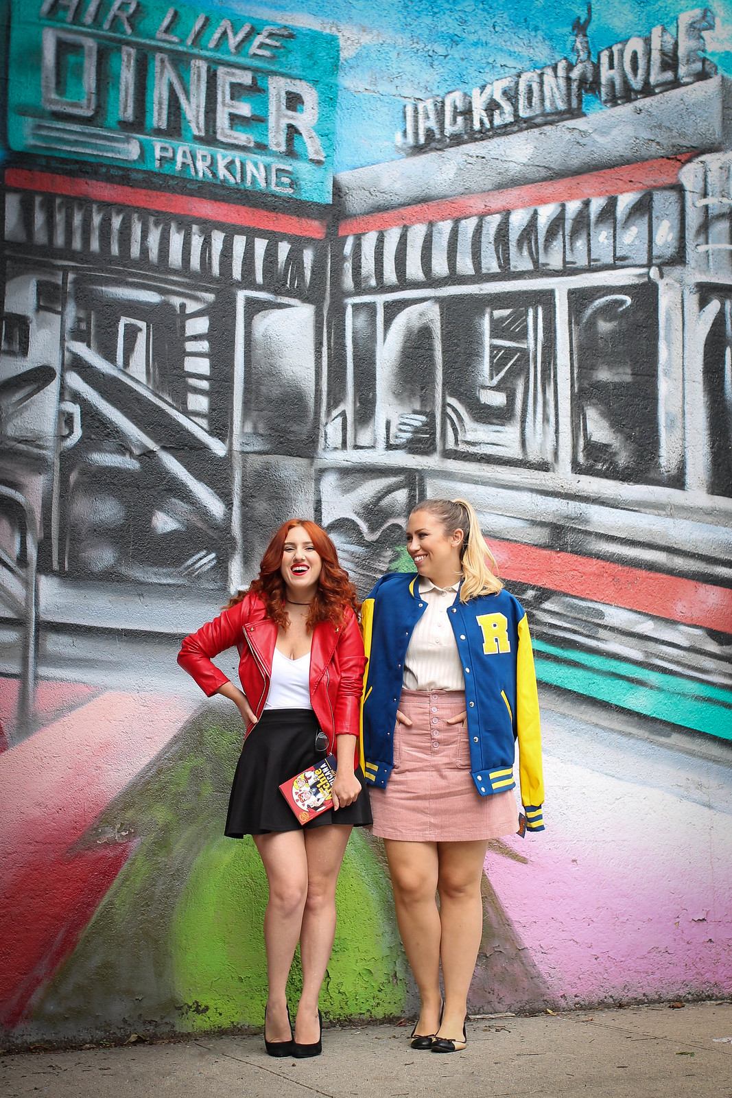 Easy Riverdale Halloween Costumes (That You'll Want to Wear Again) Betty Cooper Cheryl Blossom