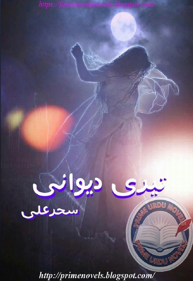 Teri Deewani is a very well written complex script novel by Sehar Ali which depicts normal emotions and behaviour of human like love hate greed power and fear , Sehar Ali is a very famous and popular specialy among female readers