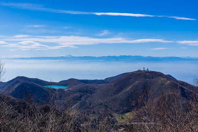 黒檜山大神からの展望