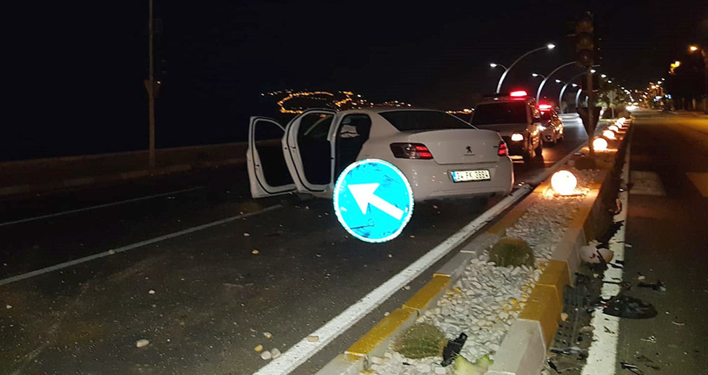 Alanya'da kaza: 2 ağır yaralı