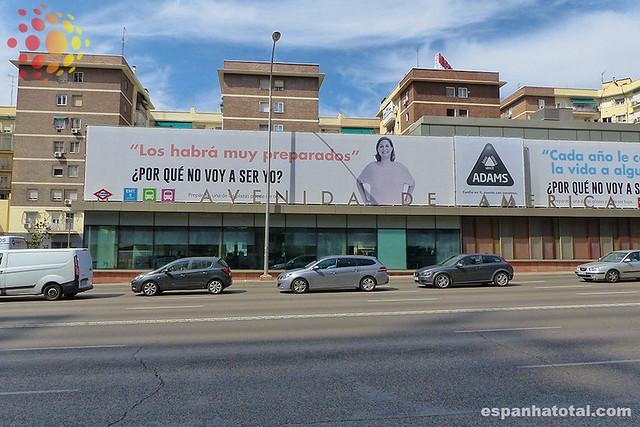 Intercambiador Avenida de América, Madrid
