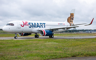 Airbus A320 JetSmart Argentina CC-AWH