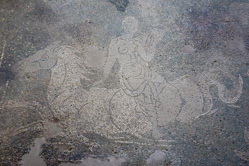 Villa romana di Palazzi di Casignana - Sala delle Nereidi, thiasos marino