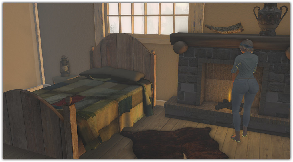 Rustic Medieval Bed Set | By Abi Latzo .
