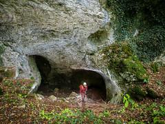 Entrée - Grotte de la tuilerie - Gondenans-Montby (25), France