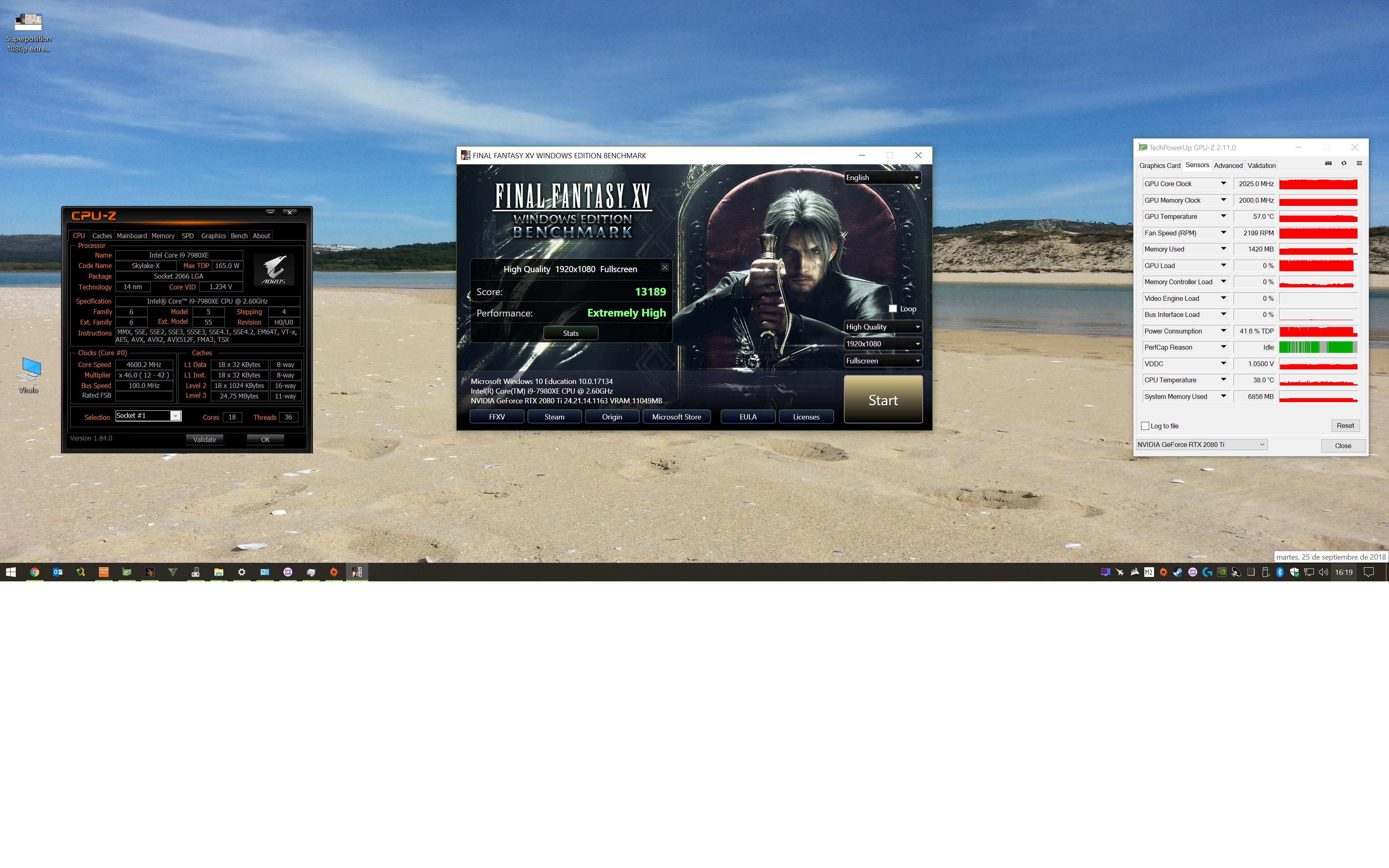 [Hilo Oficial] Nvidia Turing RTX 2080Ti, 2080, 2070...