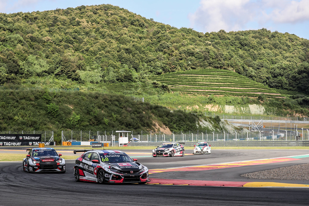 68 EHRLACHER Yann, (fra), Honda Civic TCR team ALL-INKL.COM Munnich Motorsport, action during the 2018 FIA WTCR World Touring Car cup of China, at Ningbo  from September 28 to 30 - Photo Marc de Mattia / DPPI