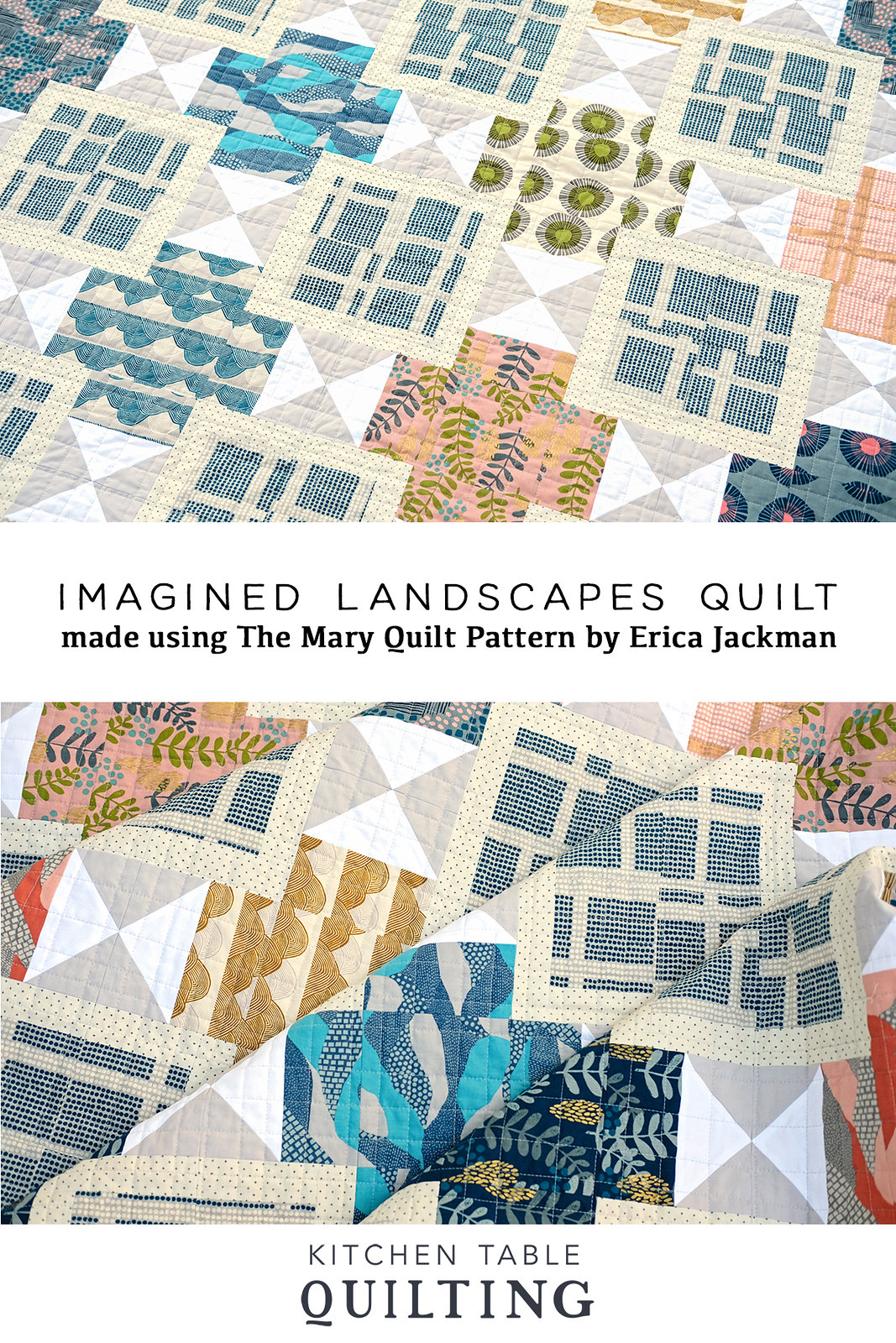 Imagined Landscapes - Kitchen Table Quilting