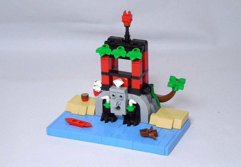 LEGO® MOC by Vitreolum: 6264 Forbidden Cove Micro