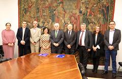 29/10/2018 - CIC bioGUNE y Deusto firman un convenio para potenciar el trabajo docente e investigador en Ciencias de la Salud