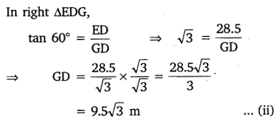 NCERT Solutions for Class 10 Maths Chapter 9 Some Applications of Trigonometry 8