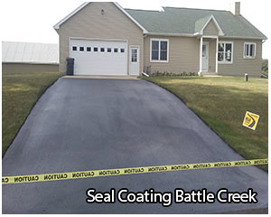 seal coat in battle creek