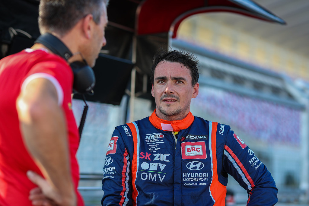 MICHELISZ Norbert, (hun), Hyundai i30 N TCR team BRC Racing, portrait during the 2018 FIA WTCR World Touring Car cup of China, at Ningbo  from September 28 to 30 - Photo Marc de Mattia / DPPI
