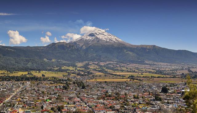 Volcan Popocatepetl, Amecameca